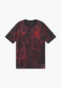adidas Performance - FEF SPANIEN PRESHI Y - Sports shirt - black - 0