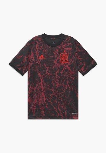 FEF SPANIEN PRESHI Y - Sports shirt - black