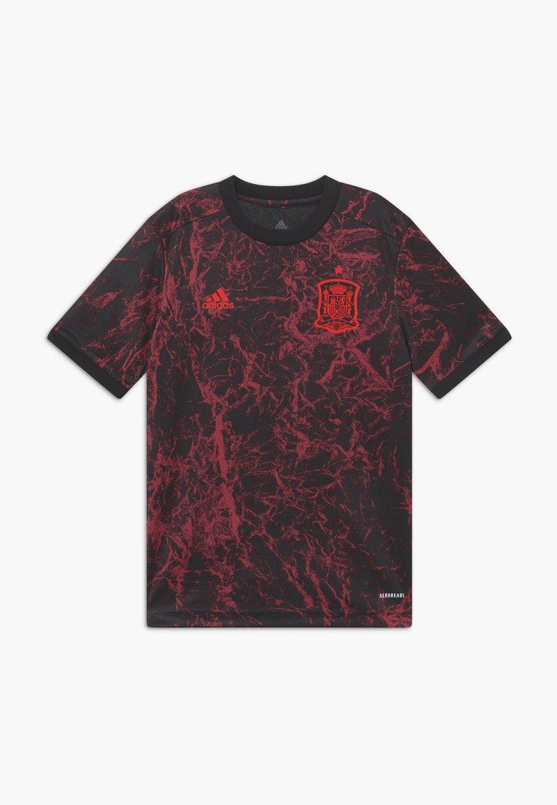 adidas Performance - FEF SPANIEN PRESHI Y - Sports shirt - black