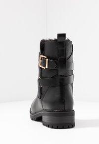 Dorothy Perkins - ALOHA BACK BUCKLE - Classic ankle boots - black - 5