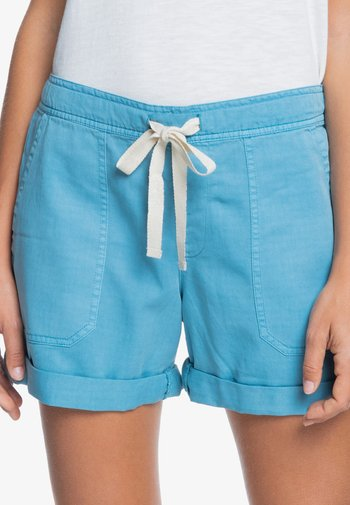 LIFE IS SWEETER - Shorts - adriatic blue