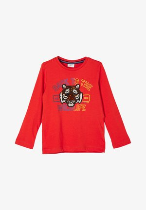 LANGARMSHIRT - Long sleeved top - red