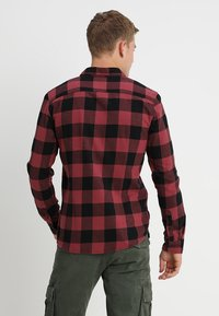 Only & Sons - ONSGUDMUND CHECKED - Shirt - maroon - 2