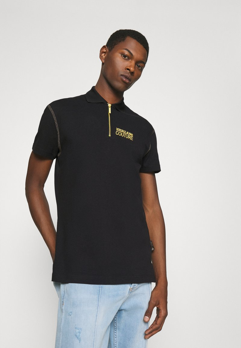 Versace Jeans Couture - ZIP - Polo shirt - nero