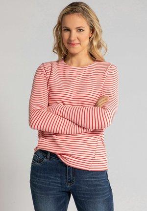 FEEL GO - Sweatshirt - hibiskusrot