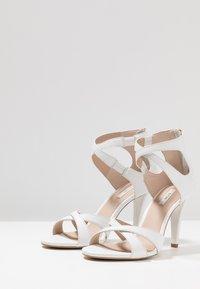 KIOMI - High heeled sandals - white - 4