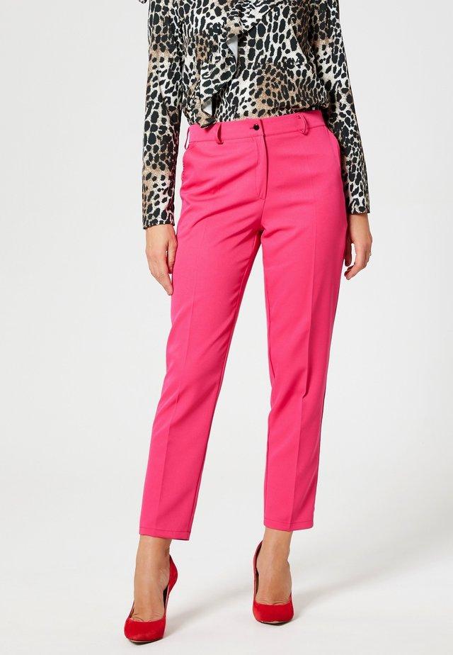 Stoffhose - dark pink