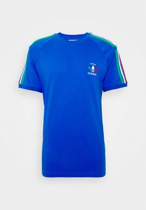 STRIPES SPORTS INSPIRED SHORT SLEEVE TEE UNISEX - Camiseta estampada - bright royal