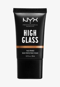 Nyx Professional Makeup - HIGH GLASS FACE PRIMER - Primer - sandy glow - 0