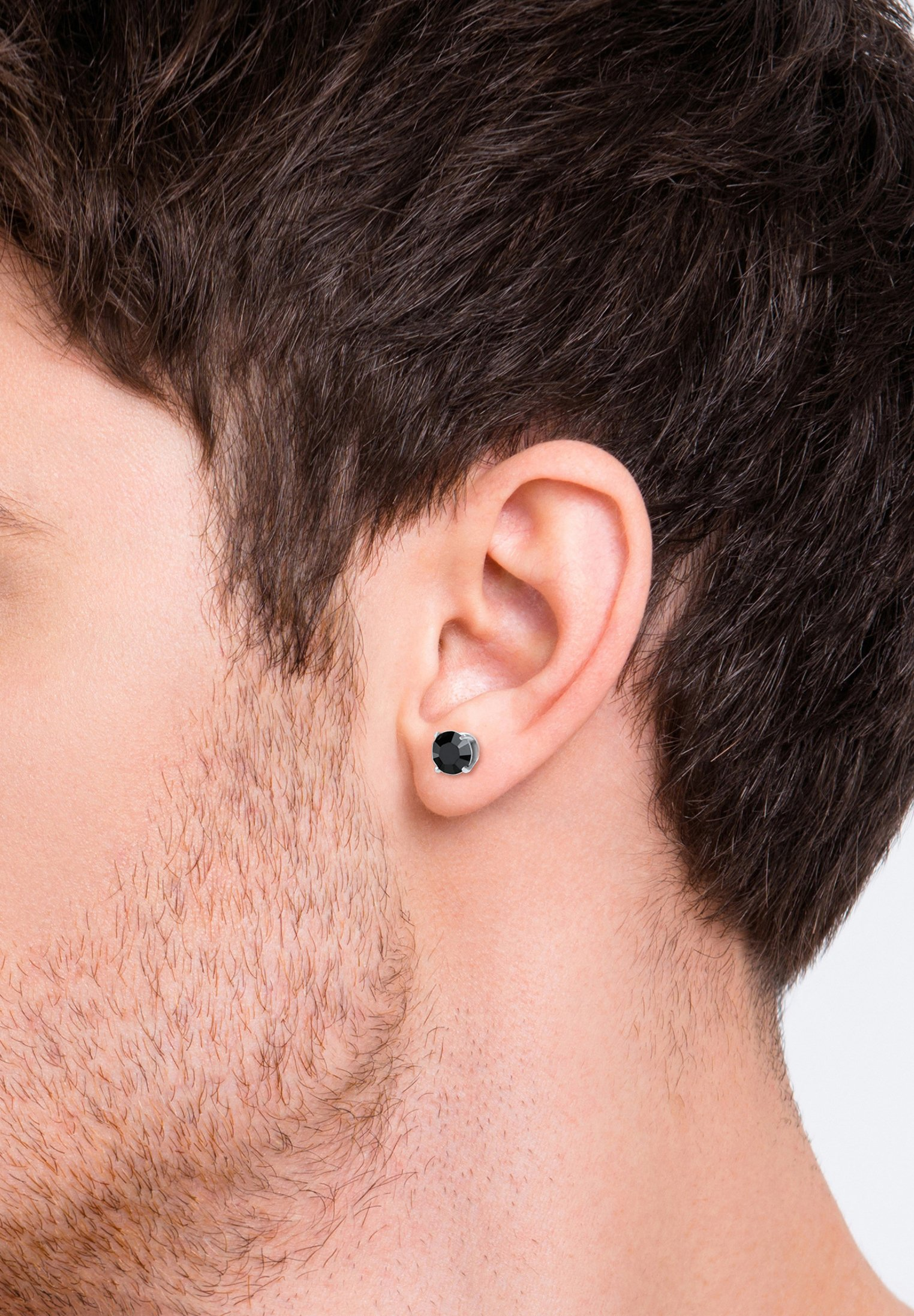 Homme GLASS CRYSTAL - Boucles d'oreilles