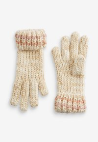 Next - METALLIC STITCH - Gloves - pink - 2