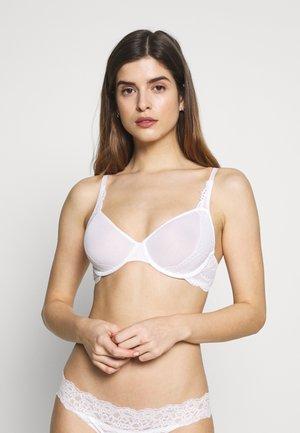 SHEER SPACER - Underwired bra - white