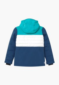 Dare 2B - FREEZE UP UNISEX - Snowboardová bunda - light blue/white/dark blue - 1