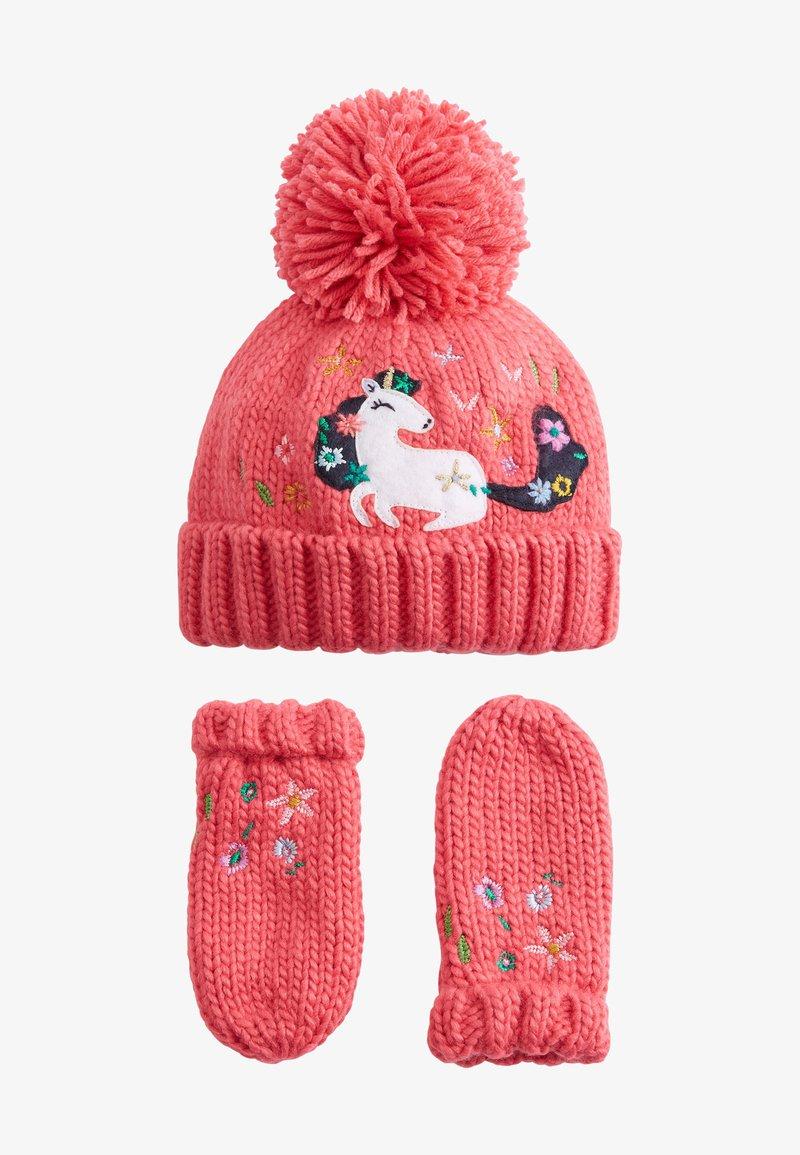 Next - Gloves - pink