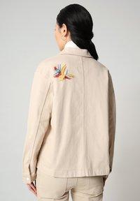 Napapijri - ALIE - Denim jacket - natural beige - 2