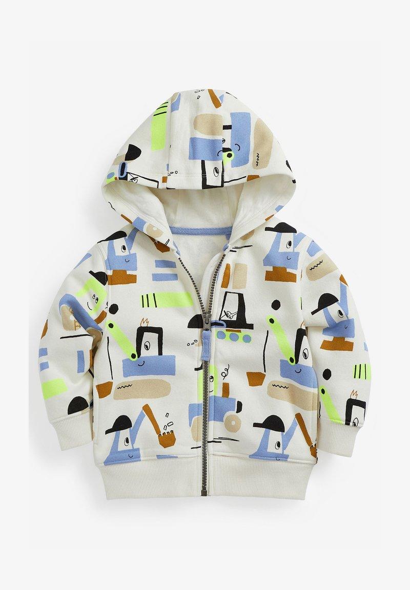 Next - Zip-up hoodie - white
