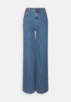 BELLIS WIDE - Široké džíny - medium denim