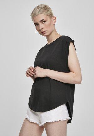 FRAUEN LADIES BASIC SHAPED - Basic T-shirt - cherry