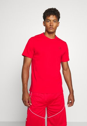 HOOPS TEE - Print T-shirt - high risk red