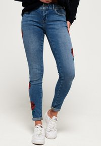Superdry - CASSIE  - Jeans Skinny Fit - american blue - 0