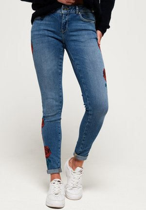 CASSIE  - Jeansy Skinny Fit - american blue