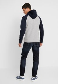 G-Star - 3301 STRAIGHT TAPERED - Jeans a sigaretta - siro black stretch denim aged - 2