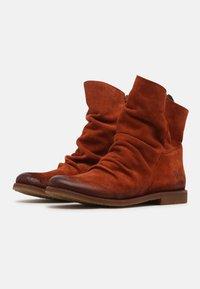 Felmini Wide Fit - CLASH - Korte laarzen - celtic rust - 1