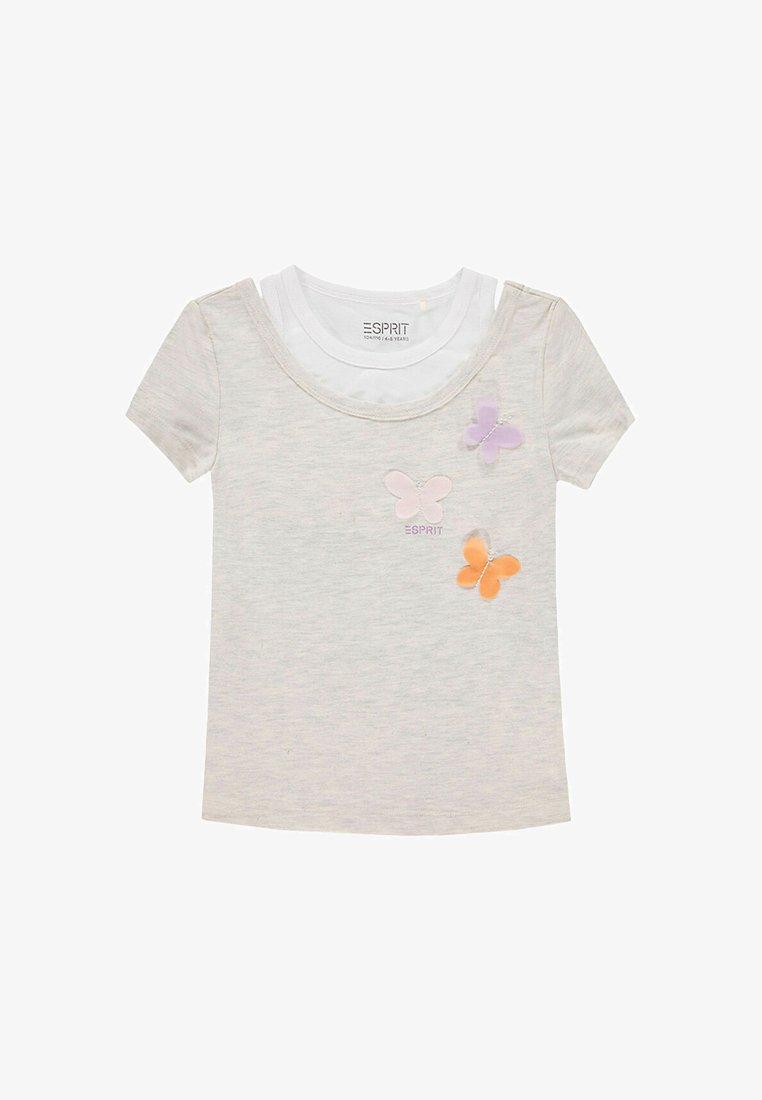 Esprit - Print T-shirt - silver