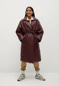 Mango - KETCHUP - Winter coat - granatrot - 0