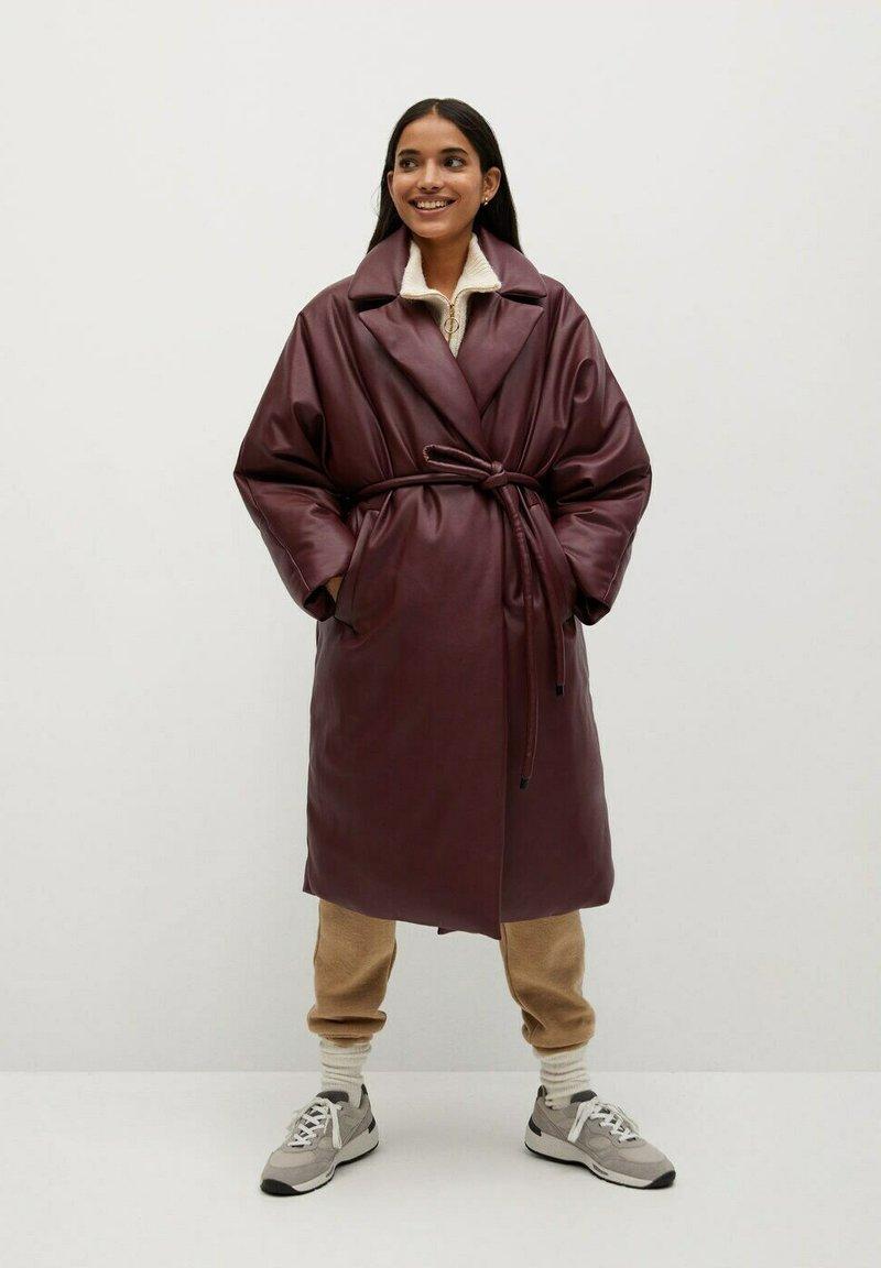 Mango - KETCHUP - Winter coat - granatrot