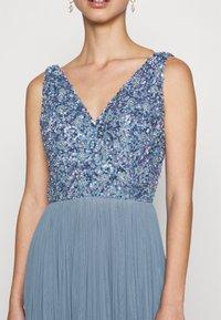 Lace & Beads - ALEXIS MAXI - Společenské šaty - blue - 5
