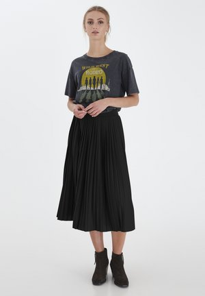 IHWIMSY - A-line skirt - black b