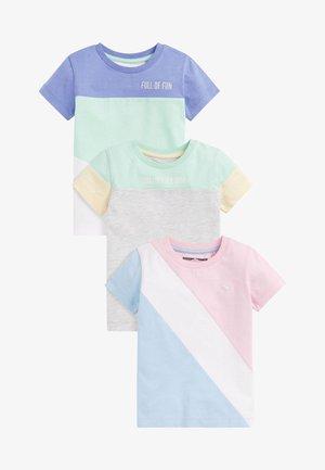 3 PACK  - T-shirt z nadrukiem - green