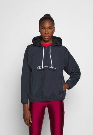 HALF ZIP - Windbreaker - dark blue