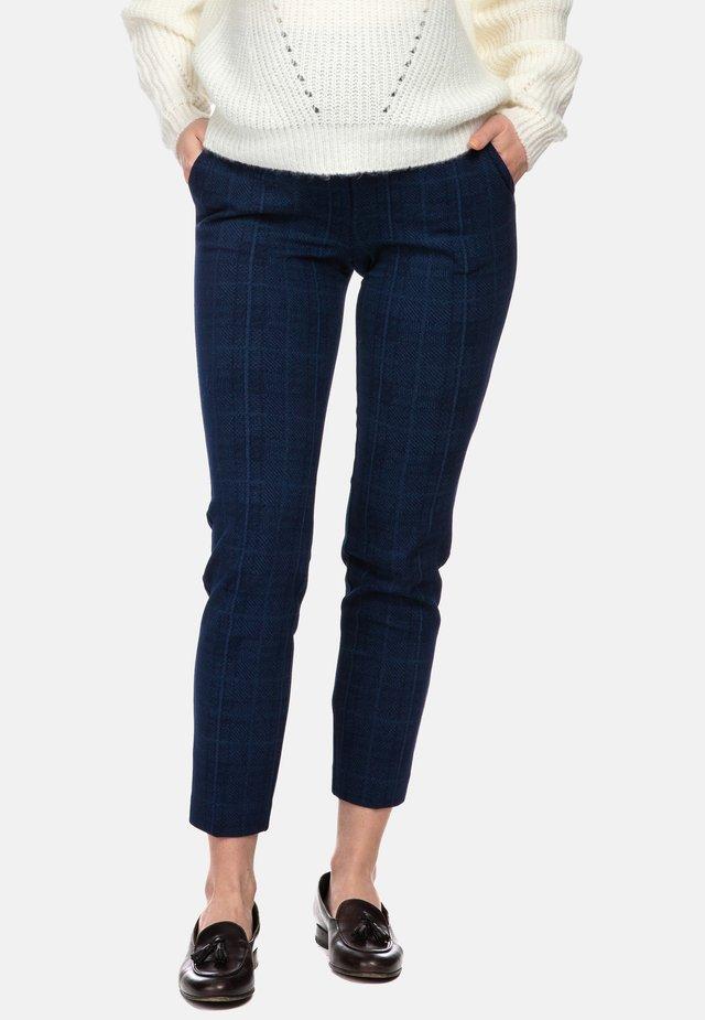 CALEB - Pantaloni - blue tartan