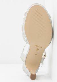 Menbur - High heeled sandals - marfil - 6
