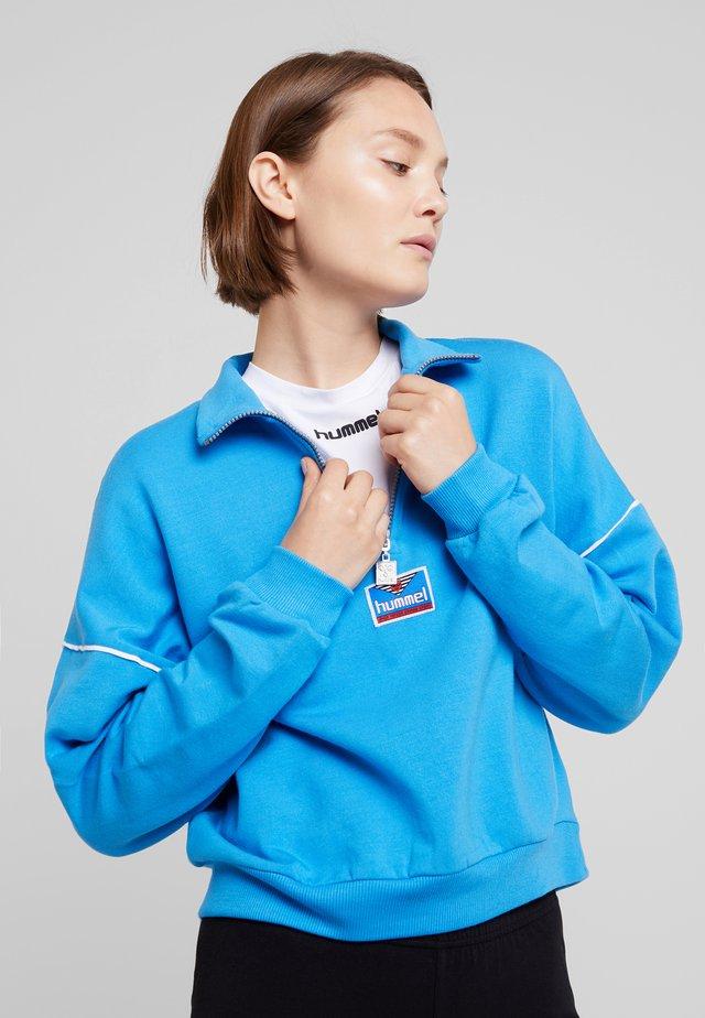 Sweatshirt - french blue
