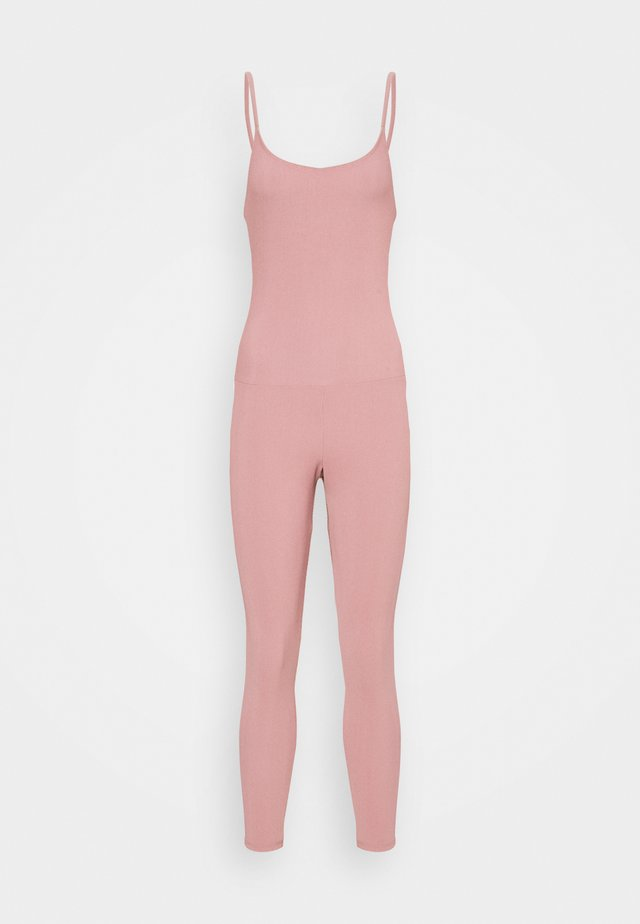 LEOTARD - Tuta sportiva - antique rose