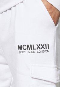 Brave Soul - PRESERVE - Trainingspak - optic white/charcoal - 4
