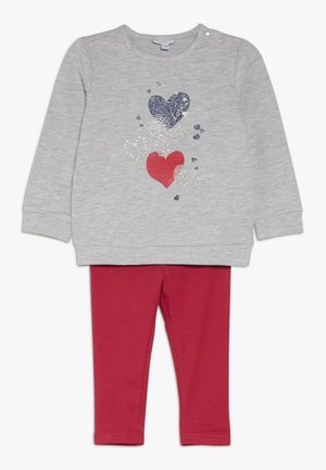 BABY JOGGING SET  - Sweater - grey melange