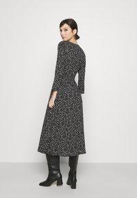 ONLY - ONLPELLA WRAP DRESS - Day dress - black - 2