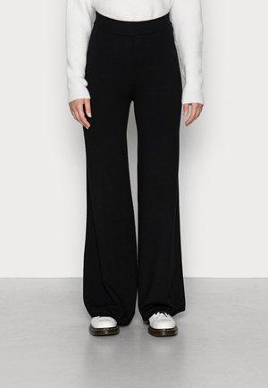 ALMA TROUSERS - Trousers - black