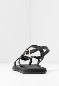 Shoe The Bear - TAO STRAP - T-bar sandals - black - 5