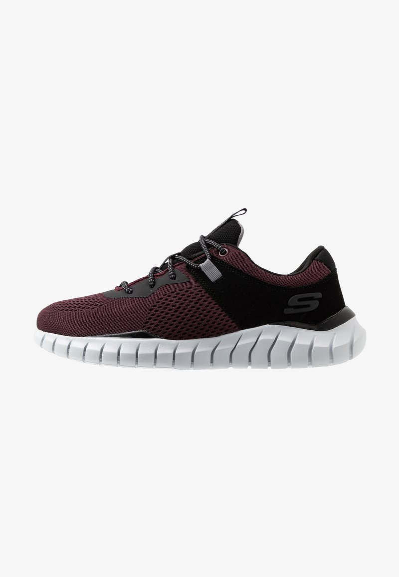 Skechers Sport - OVERHAUL - Baskets basses - burgundy/black