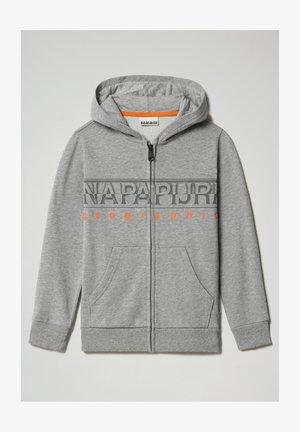 BADYR FULL ZIP HOOD - Zip-up sweatshirt - medium grey melange