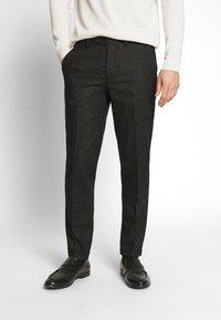 Jack & Jones PREMIUM - JPRRECYCLE TROUSER - Pantaloni eleganti - black - 0