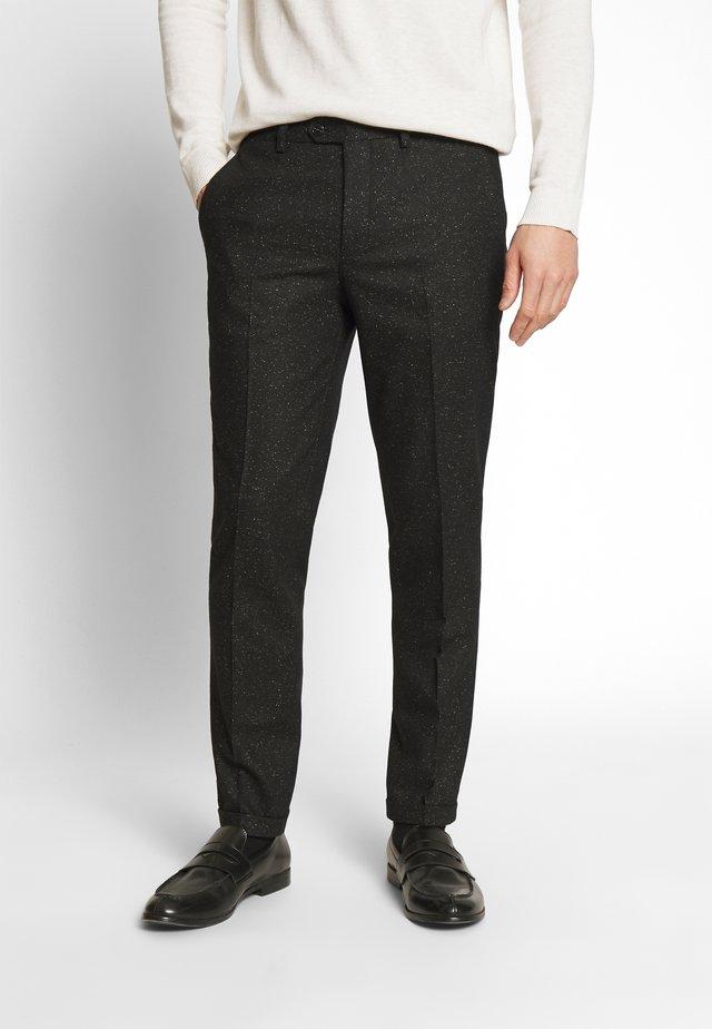 JPRRECYCLE TROUSER - Pantaloni eleganti - black