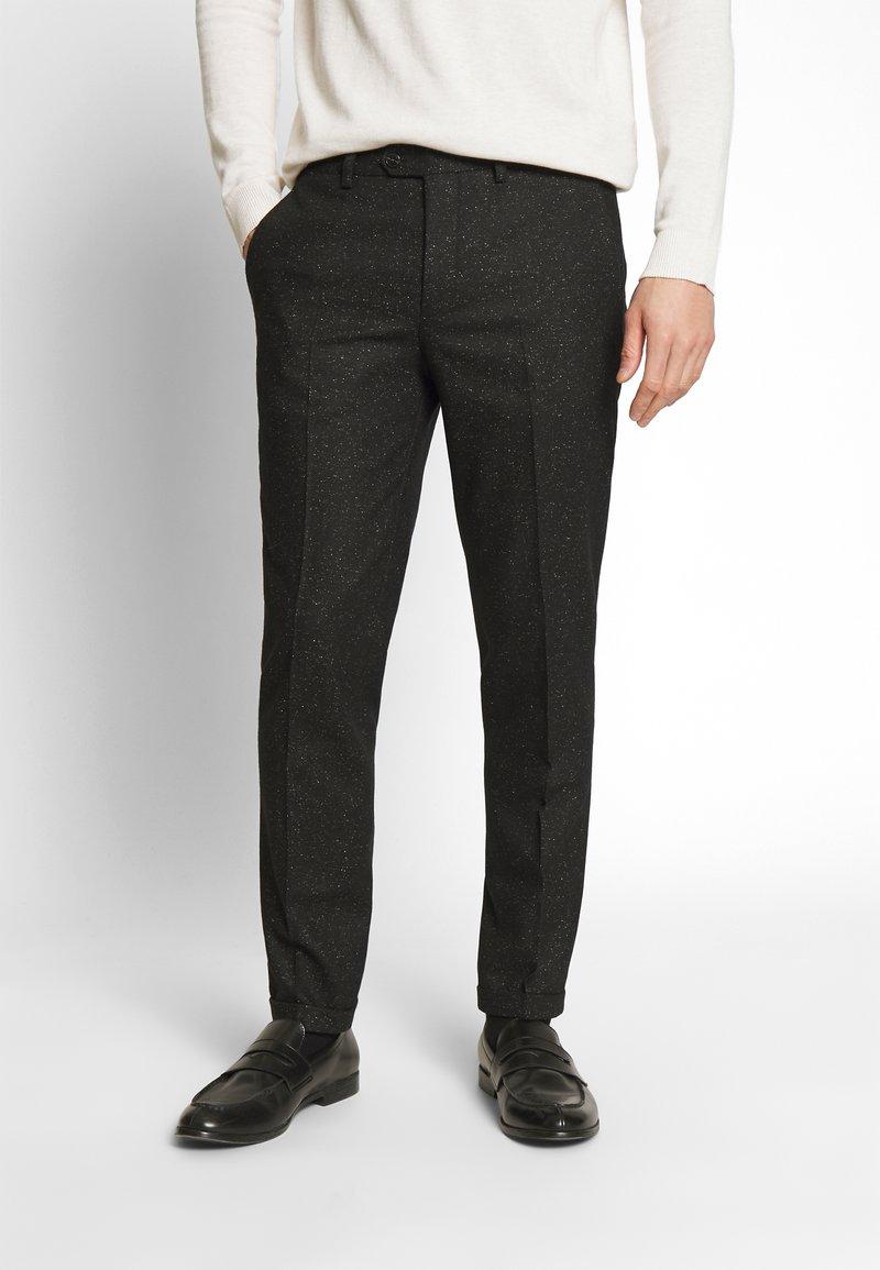 Jack & Jones PREMIUM - JPRRECYCLE TROUSER - Pantaloni eleganti - black