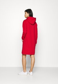 Tommy Hilfiger - TIARA HOODED DRESS - Day dress - primary red - 2
