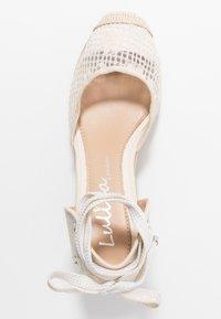 Lulipa London - LORENA - Sandály na vysokém podpatku - cream - 3